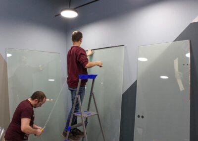 Изоляция прводки смарт стекла