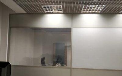 Установка смарт-пленки в офисе БЦ «Сова» Санкт-Петербурге