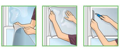 Как наклеить солнцезащитную пленку